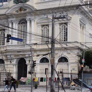 Centro do Recife abandonado